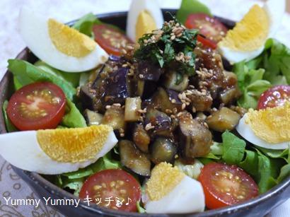 なすの肉味噌サラダ☆