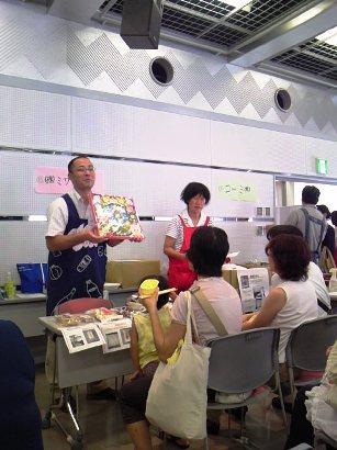 生活クラブ大試食会クリスマスのお菓子