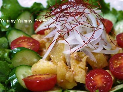 肉味噌マヨdeポテトサラダ♪