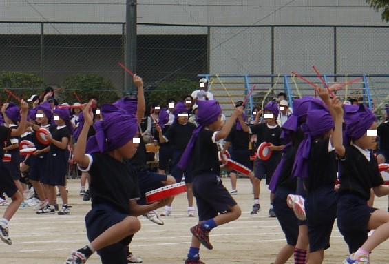 2010運動会 娘 ダンス エイサー