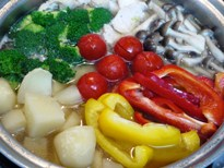 イタリアン塩ちゃんこ鍋ー4