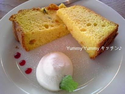 グリーンカレーランチのデザート