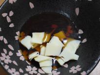 とろけるチーズぽん酢