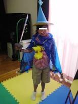 児童センターでのお祭り 変身4ブログ用