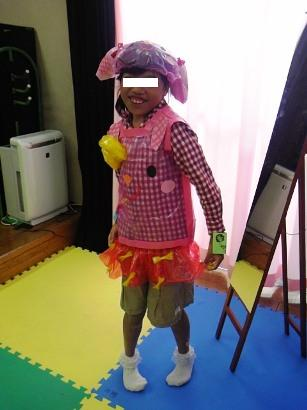 児童センターでのお祭り 変身 ブログ用