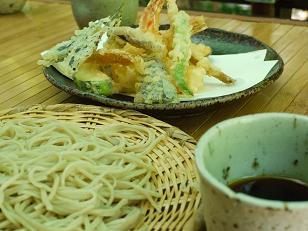 天ぷらとそば7.19