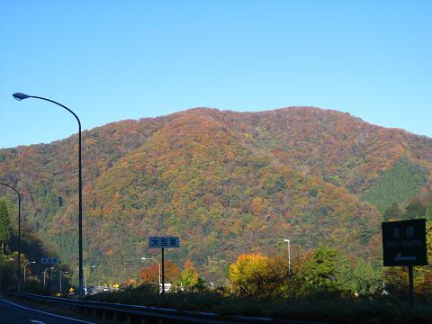 山の紅葉11.21