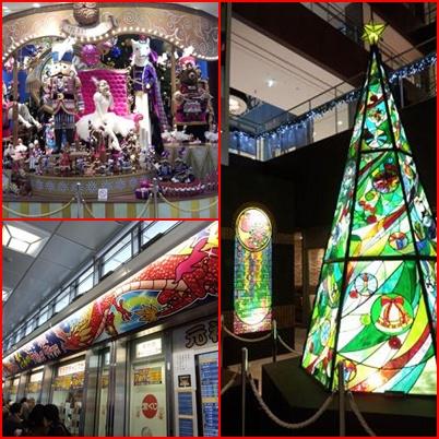 名駅のクリスマス2013