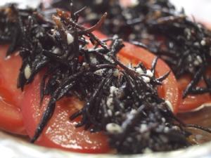 20110629塩麹ひじきトマト