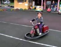 バイク運転