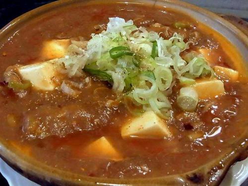 牛すじ豆腐鍋
