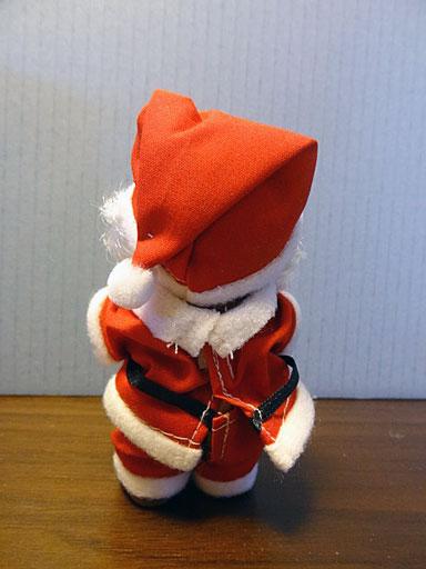 クリスマス クマ後ろ