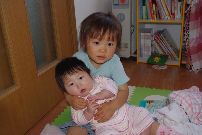 ガーコと赤ちゃん♪