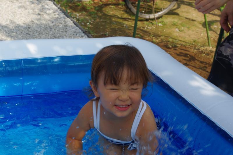 ガーコのプール♪②