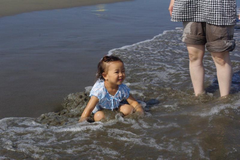 ガーコの海水浴♪