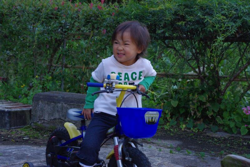 ガーコの自転車♪