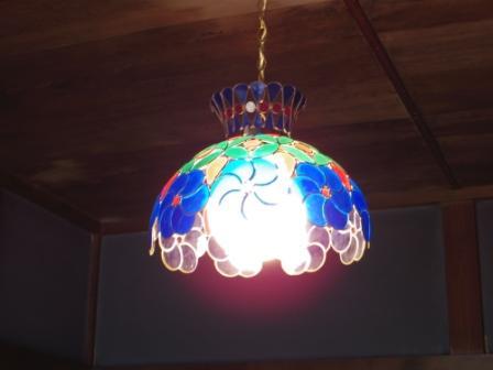 ふすまの電灯