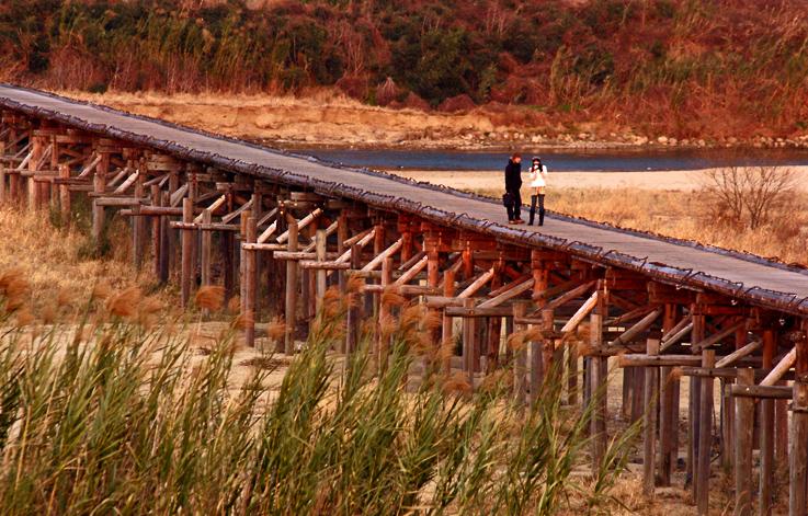 黄昏流れ橋1