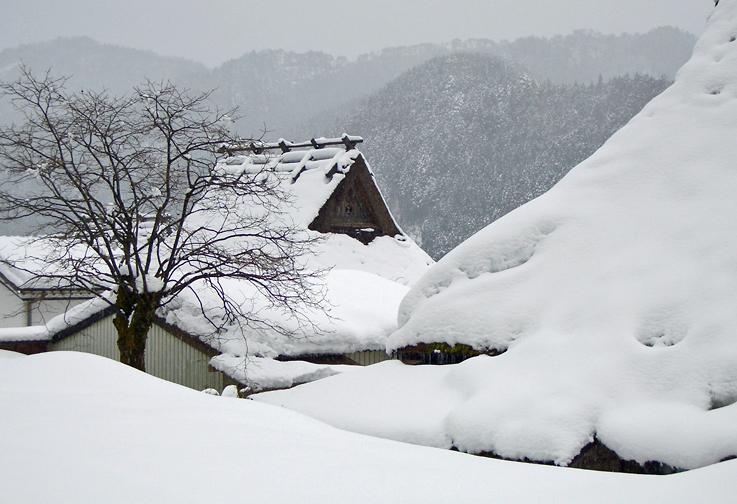 雪の美山町2