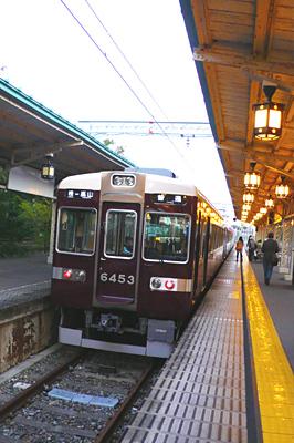 阪急電車 嵐山
