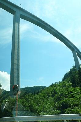 日本一高い橋 鷲見橋