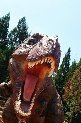 明野高原キャンプ場 恐竜