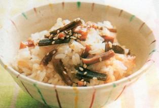 おかず(豚肉と大豆の煮物&昆布と椎茸の佃煮風 )2