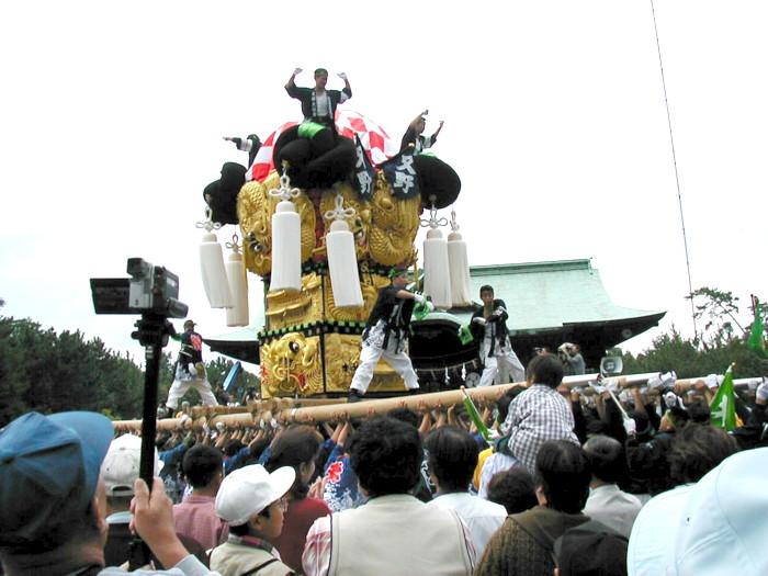 八幡神社の又野太鼓台