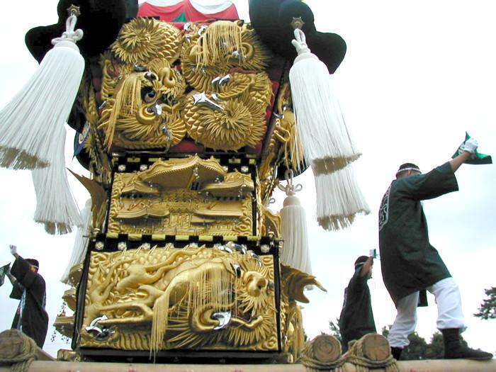 八幡神社の宇高太鼓台