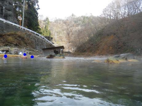 尻焼温泉 川風呂