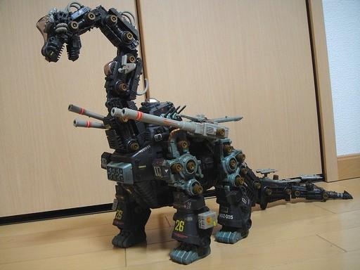 共和国母艦型超巨大ゾイド「ウルトラザウルス」!