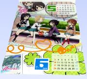 Aチャンネル 2012年 カレンダー 5月・6月
