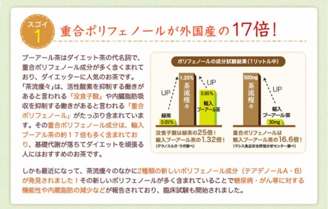 国産 ダイエットプーアール茶【茶流痩々】 (3)