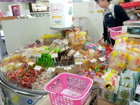 お菓子量り売り (2)