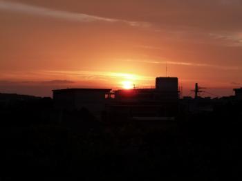日の出デジカメ