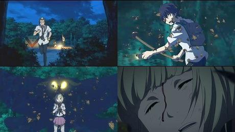 ★アニメ三昧★:青の祓魔師 第14話 「愉しいキャンプ」