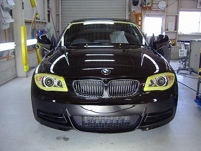 BMW135iハイモースコート