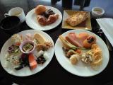 201009神戸メリケンパークオリエンタルホテル朝食サンタモニカの風1
