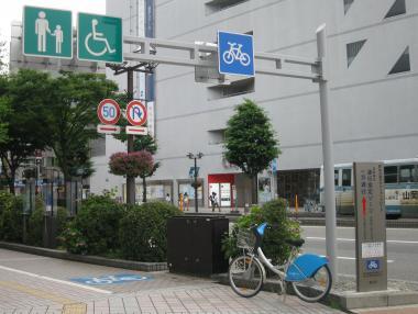 ブログ用 駅南自転車通行帯