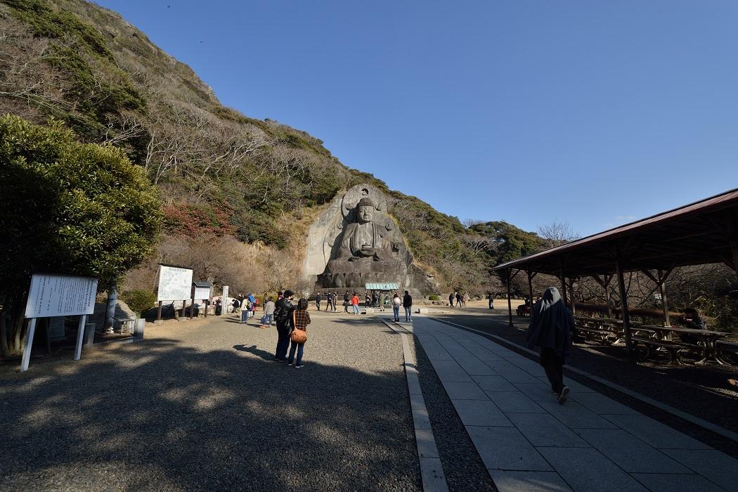 日本寺の大仏と地獄のぞき