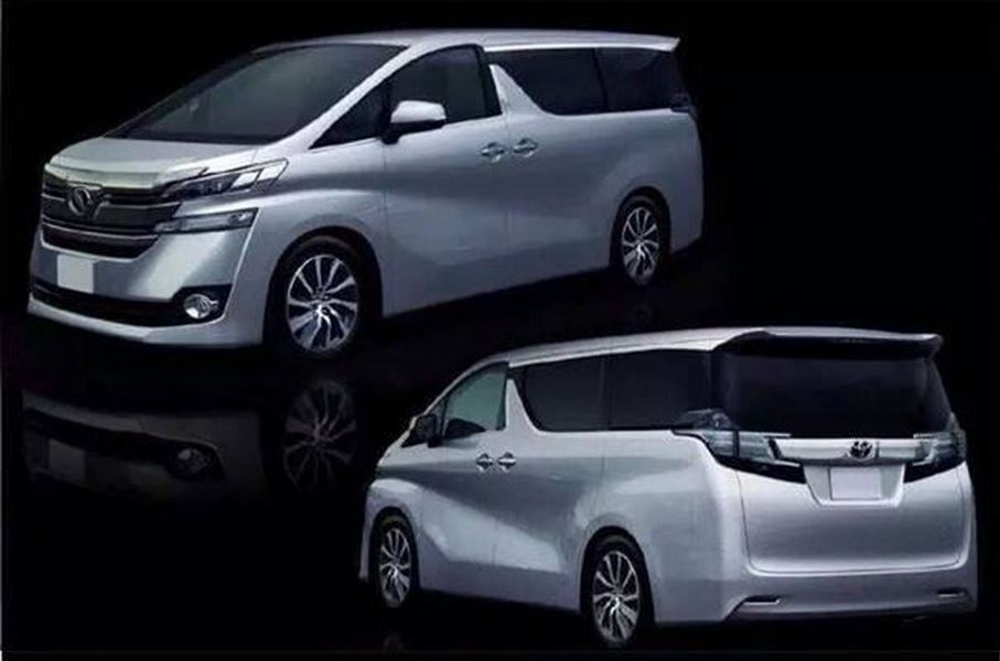 トヨタ 新型ヴェルファイア 2015