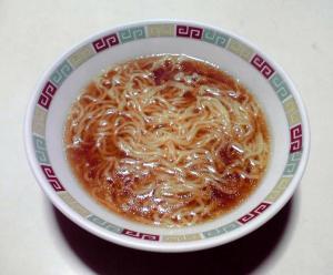 マルちゃん 正麺 醤油味(できあがり)