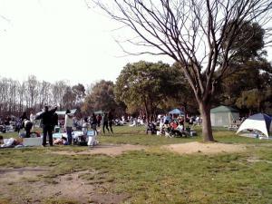 大泉緑地 2012 バーベキューゾーン