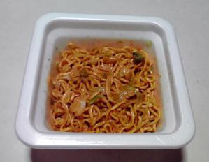 ピザポテト味焼そば(できあがり)