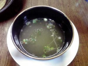 らーめん工房RISE 貝つけ麺 海老塩ベース(スープ割り)