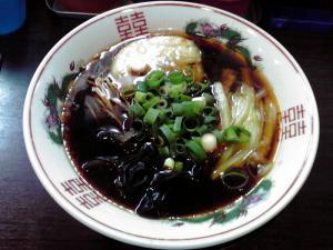 金久右衛門 四天王寺店 ピリ辛白菜ラーメン(濃口)