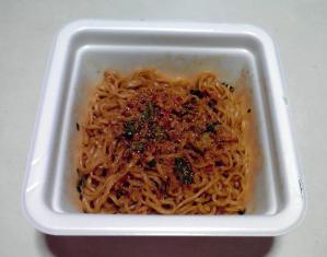 凄麺 川式担担麺 汁なし担担麺(できあがり)
