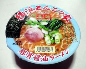 凄麺 横浜とんこつ家 豚骨醤油ラーメン