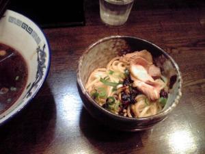 綿麺 フライデーナイト Part18 (12/1/27) 黒醤油ら~めん(替え玉)