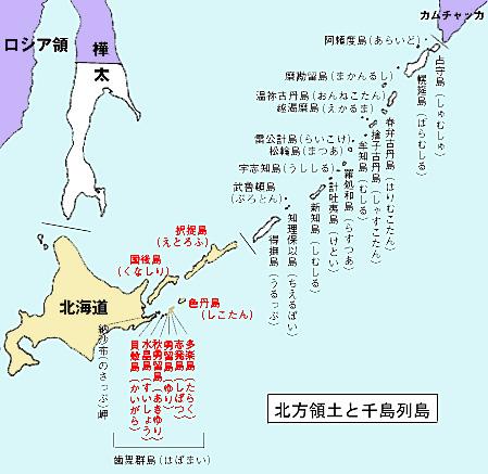 島の北方領土